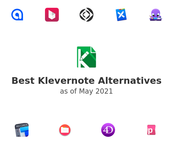 Best Klevernote Alternatives