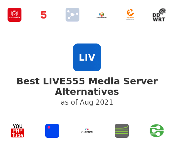 Best LIVE555 Media Server Alternatives