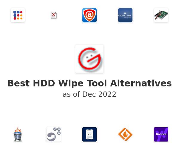 Best HDD Wipe Tool Alternatives
