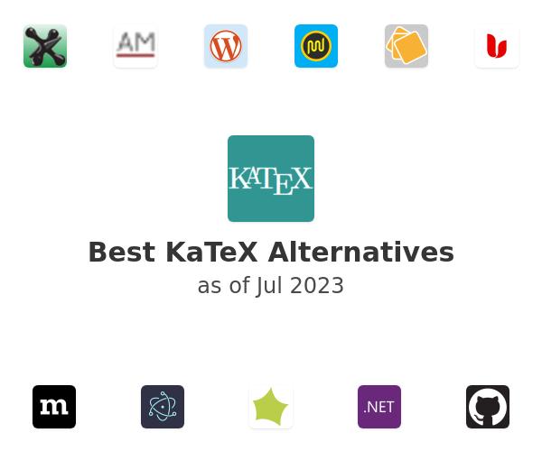 Best KaTeX Alternatives