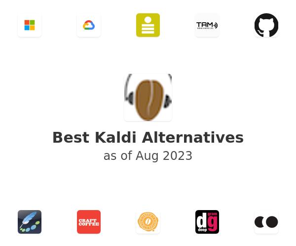 Best Kaldi Alternatives