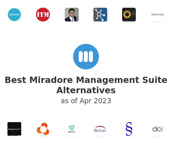 Best Miradore Management Suite Alternatives