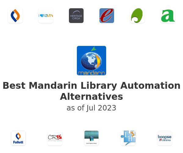 Best Mandarin Library Automation Alternatives