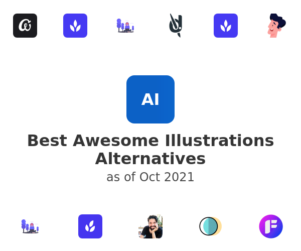 Best Awesome Illustrations Alternatives