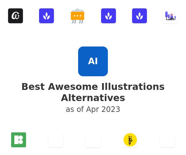 Best Awesome Illustrations Alternatives
