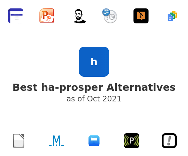 Best ha-prosper Alternatives