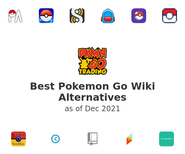 Best Pokemon Go Wiki Alternatives
