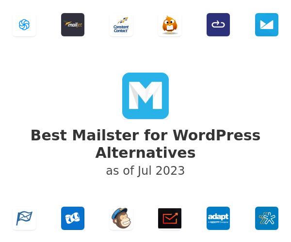 Best Mailster for WordPress Alternatives