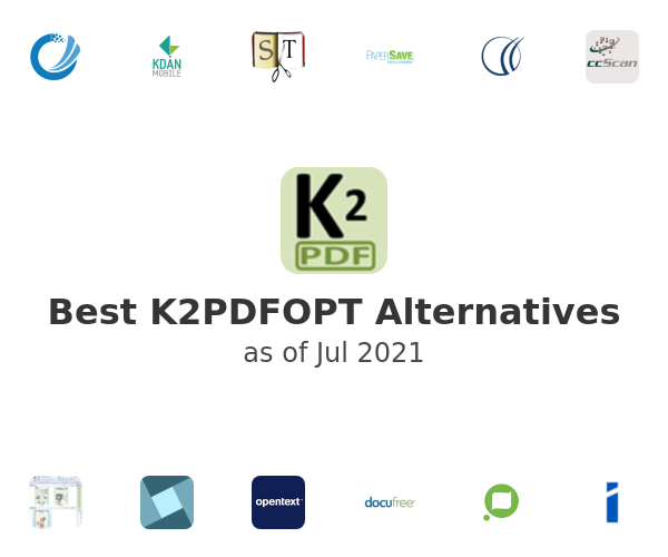Best K2PDFOPT Alternatives