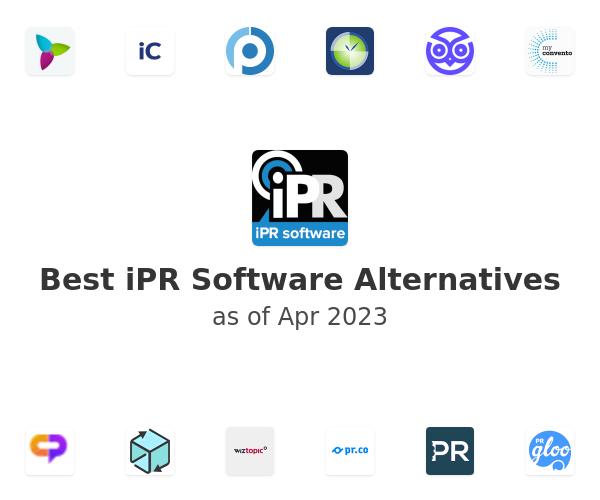 Best iPR Software Alternatives