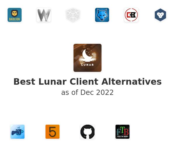 Best Lunar Client Alternatives