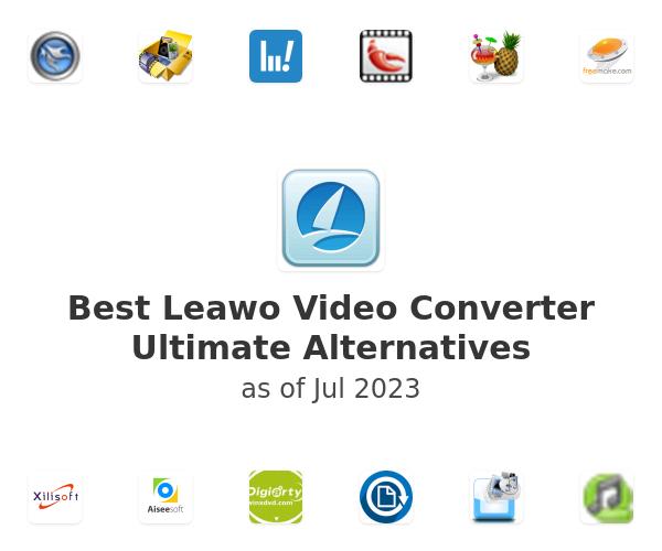 Best Leawo Video Converter Ultimate Alternatives
