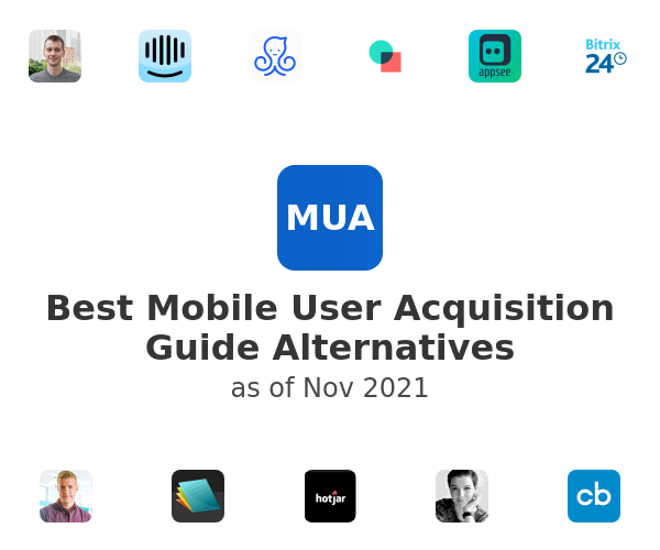Best Mobile User Acquisition Guide Alternatives