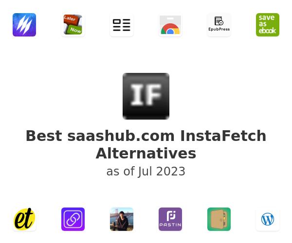 Best InstaFetch Alternatives