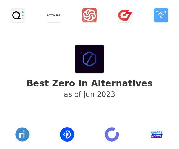 Best Zero In Alternatives