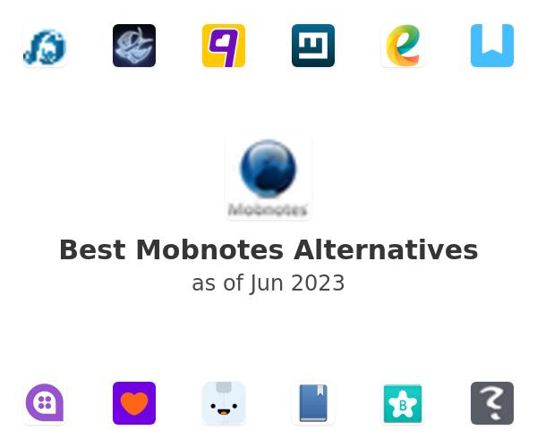 Best Mobnotes Alternatives