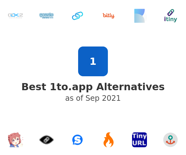 Best 1to.app Alternatives