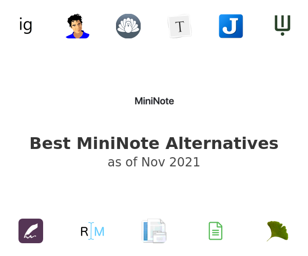 Best MiniNote Alternatives