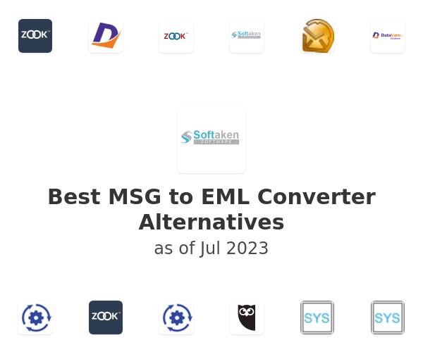 Best MSG to EML Converter Alternatives