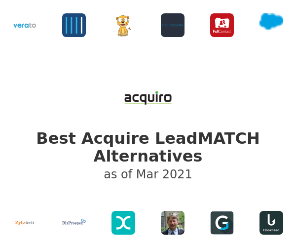 Best Acquire LeadMATCH Alternatives