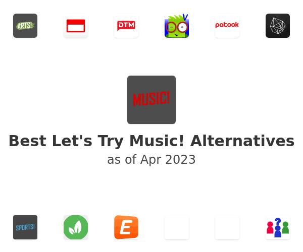 Best Let's Try Music! Alternatives