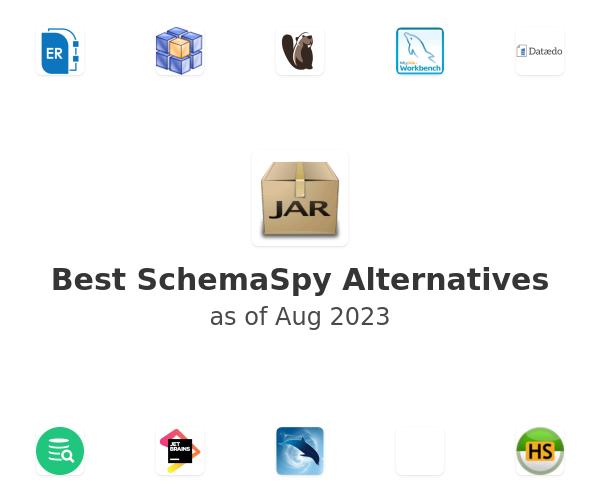 Best SchemaSpy Alternatives