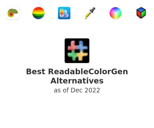 Best ReadableColorGen Alternatives