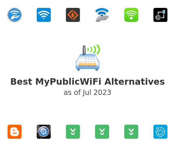 Best MyPublicWiFi Alternatives