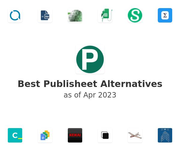 Best Publisheet Alternatives