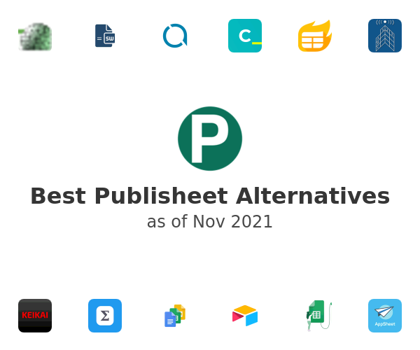 Best Publisheet Alternatives