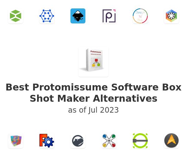 Best Protomissume Software Box Shot Maker Alternatives