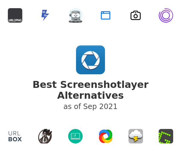 Best Screenshotlayer Alternatives