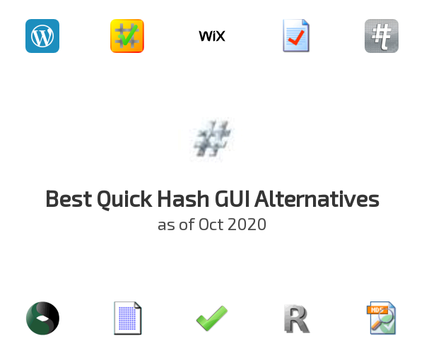 Best Quick Hash GUI Alternatives