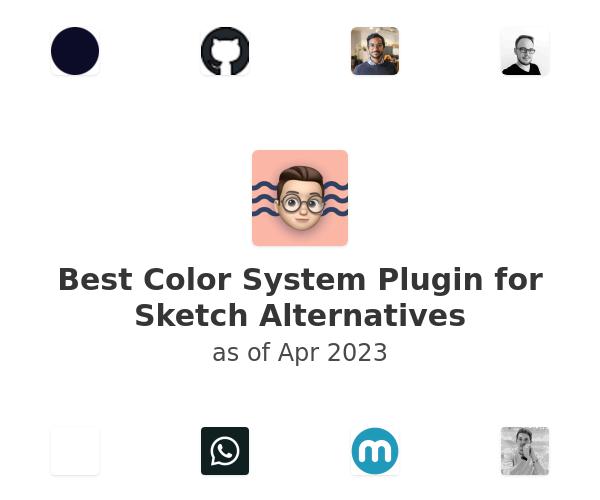 Best Color System Plugin for Sketch Alternatives