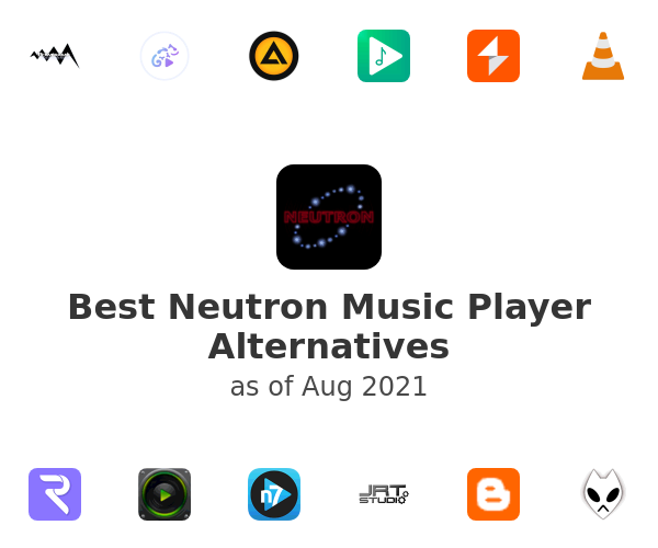 Best Neutron Music Player Alternatives
