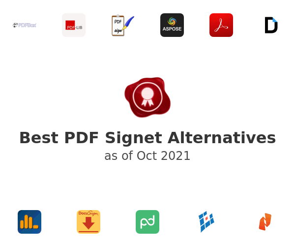 Best PDF Signet Alternatives