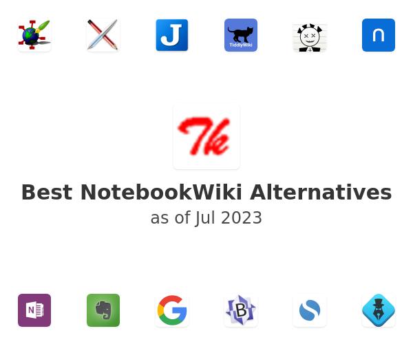 Best NotebookWiki Alternatives