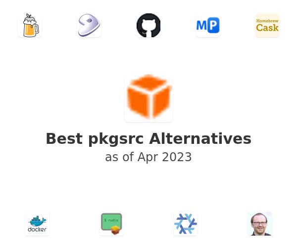 Best pkgsrc Alternatives