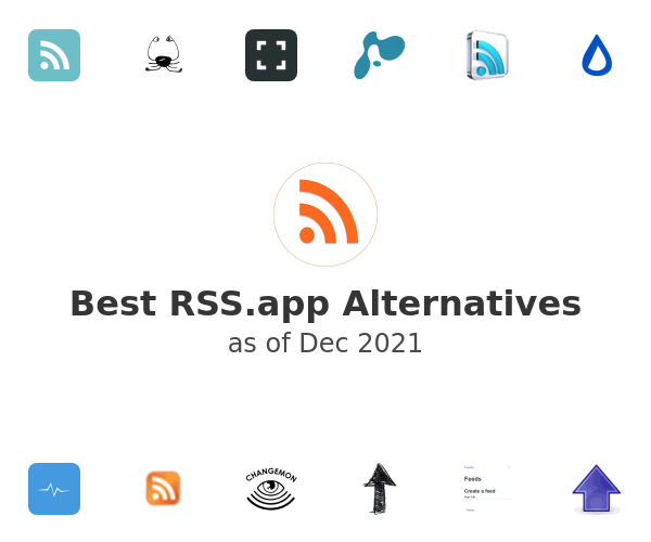 Best RSS.app Alternatives