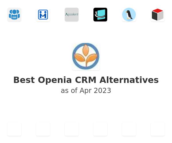 Best Openia CRM Alternatives