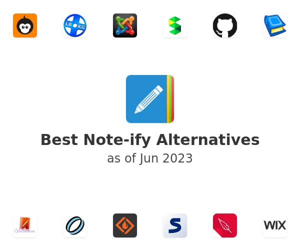 Best Note-ify Alternatives