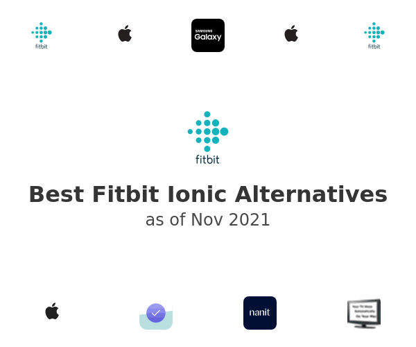 Best Fitbit Ionic Alternatives