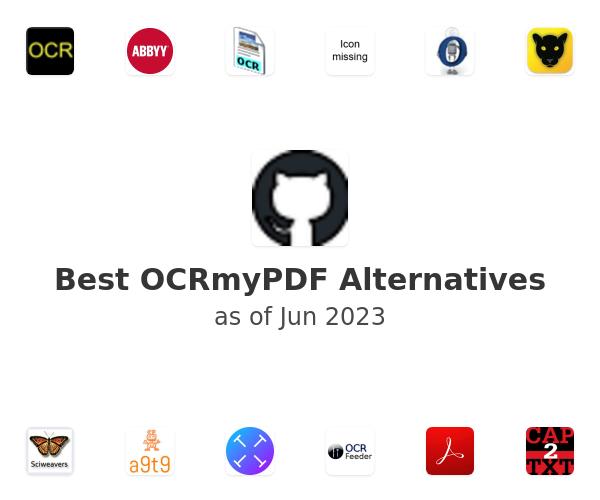 Best OCRmyPDF Alternatives