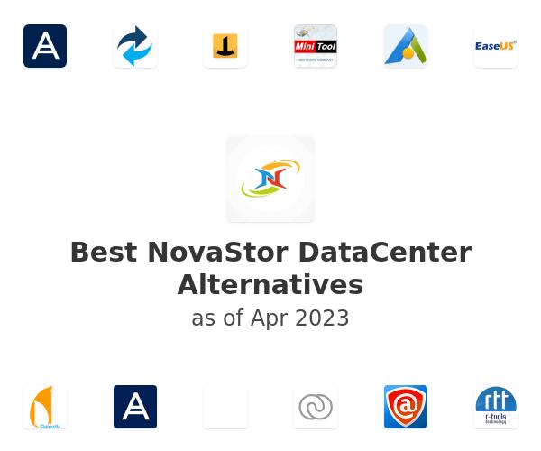 Best NovaStor DataCenter Alternatives