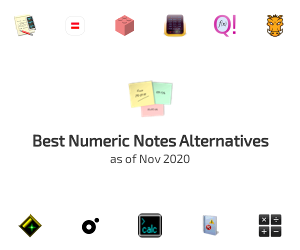 Best Numeric Notes Alternatives