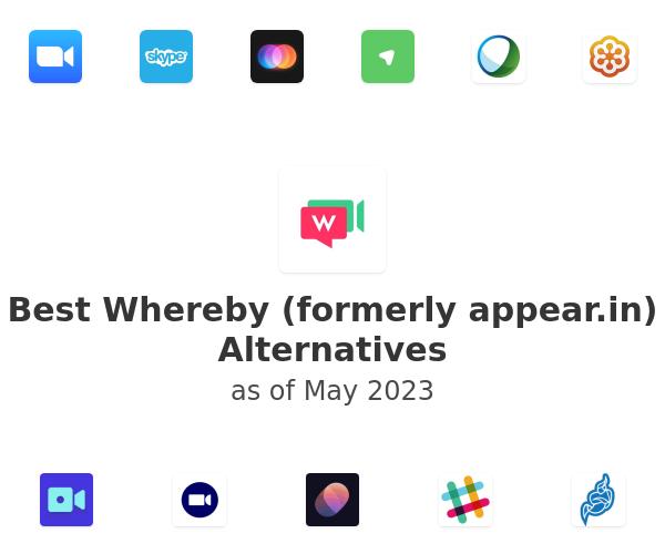 Best Whereby (formerly appear.in) Alternatives