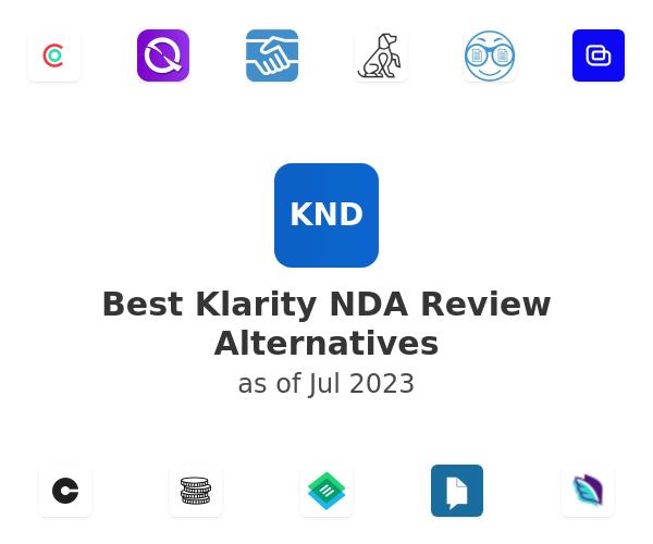 Best Klarity NDA Review Alternatives