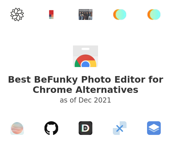 Best BeFunky Photo Editor for Chrome Alternatives