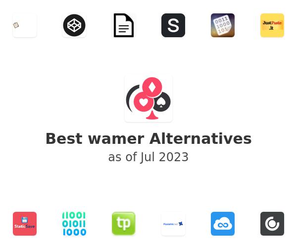 Best wamer Alternatives