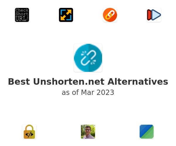 Best Unshorten.net Alternatives